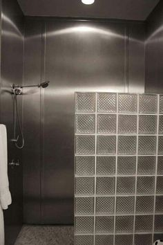 Stainless Steel Shower Looks Great And Is Easy To Clean