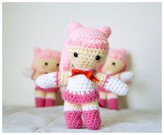 Sailor Chibi Moon  7 inch Amigurum (crocheted doll) by Crafty Dork