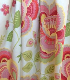 curtain fabric  Tahla, Watermelon