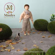 Minilys Miniatures. Custom dolls. Artisan Miniatures.