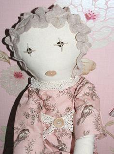 Vintage Style Rag Dolls