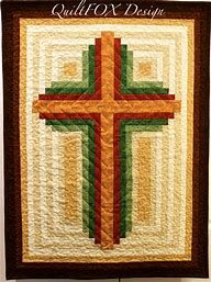 Image result for Simple Cross Quilt Pattern