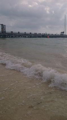 PUERTO Morelos beach pier