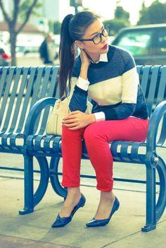 al-sweater-stripe-nautical-blue-red-jeans-zara-personal-style-blogger