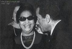 Oum Keltoum and Farid Alatrache  Egyptian singers/actors. ....RIP