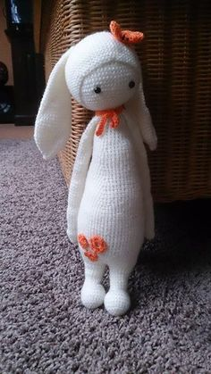 RITA the rabbit made by Patricia W.-R. / crochet pattern by lalylala