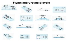 Flying and Ground Bicycle
