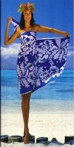 how to tie sarong step 1                                                       …