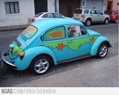 The Mystery Machine bug!