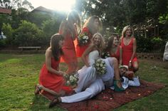 Danielle...idees vir bridesmaids rokkies??