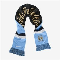 26.99 - Nike Manchester City Supporters Scarf (Football Blue Obsidian White)  -  d1c24d2fc27