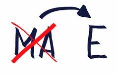 sostituire_ma_con_e