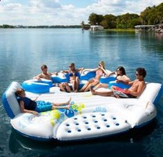 lake float  - Outdoor Ideas..I so want one of these!