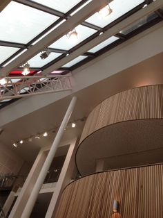 Reception balconies