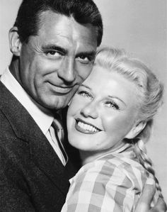 Monkey Business, 1952, Directed by Howard Hawks. Cary Grant and Ginger Rogers