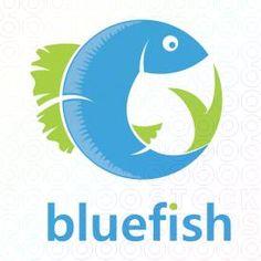 BlueFish logo by Serdal Sert