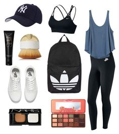 """Untitled #287"" by laurenrutledge5 on Polyvore featuring NIKE, Hartford, Too Faced Cosmetics, NARS Cosmetics, RVCA, Vans, Topshop and Artis"