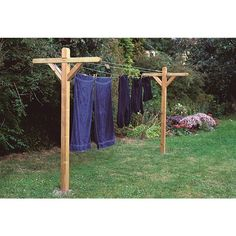 BAUHAUS - Danmarks største byggemarked - Køb online her! Diy Clothes To Sell, Diy Clothes Jackets, Diy Clothes And Shoes, Diy Clothes Drying Rack, Outdoor Clothes Lines, Blue Moon Light, Outdoor Outfit, Outdoor Projects, Farm Life
