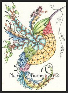 Norma J. Burnell -Fairy Tangles - Buscar con Google