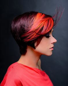 Goldwell Colorzoom 2012 entry with @shay Risley  #short fun hair