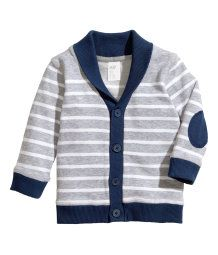 H&M Baby Boy Cardigan...I personally am obsessed with cardigans