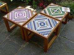 Tables by Vicolo Paglia Corta, a Bologna-based design duo