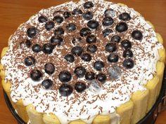 Tort diplomat cu struguri Tiramisu, Caramel, Mousse, Cookies, Breakfast, Cake, Ethnic Recipes, Desserts, Charlotte