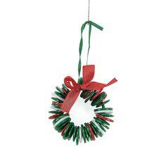 12 kits Christmas Craft KITS fun express Christmas Foam Reindeer Clothespin Craft Kits