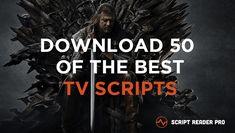 best TV scripts download Tv Writing, Writing Memes, Script Reader, Film Script, Breaking Bad, Best Tv, We The People, Improve Yourself