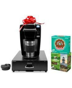 Keurig K15 Coffee Lovers Gift Set, Total Value $158 - Black