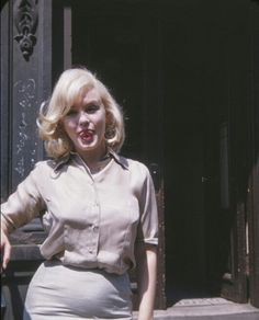 "Marilyn during the filming of ""The Misfits"", 1960."
