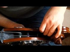 How to string a Double Bass (lots of detail!)