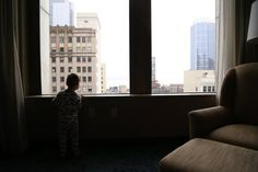 Traveling with kids. A holiday staycation in Seattle.