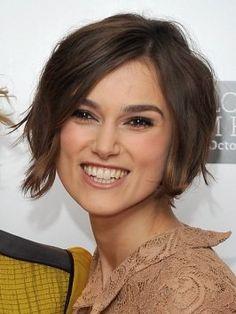 Kiera Knightely short hair
