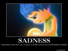 Inside Out: Sadness by BoldCurriosity.deviantart.com on @DeviantArt
