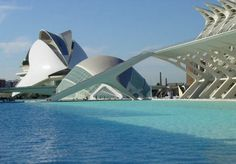 Valencia's City of Arts and Sciences in Spain
