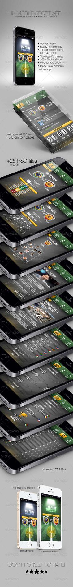 Free IU Mobile Sport App. Link: http://graphicriver.net/item/iu-mobile-sport-app-/7119395. [Link expires in a month]: