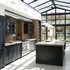 This kitchen gets a little bit more beautiful every time I see it... #deVOLKitchens