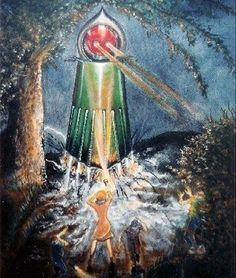 The Flatwoods Monster hails from Flatwoods, located in Braxton County, West Virginia. Aliens And Ufos, Ancient Aliens, Flatwood Monster, Unexplained Phenomena, Cool Monsters, Phantom, Mothman, Cryptozoology, Comic