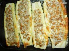 Cuketa plnená mletým mäsom Zucchini, Vegetables, Fit, Shape, Vegetable Recipes, Veggies