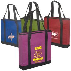 The Custom Non-Woven Felt Tote is an eco-friendly bag that is both reusable and recyclable. Show off not just your brand name or logo design, but also your love for the Earth with this affordable promotional product. Great for trade shows or large events! Felt texture and 170 GSM material makes this tote durable and sturdy.
