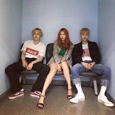 E'Dawn with Hyuna & Hui