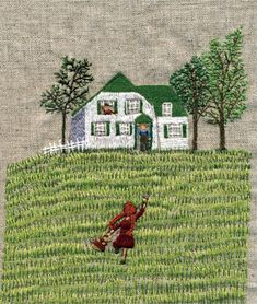 Embroidery by Kaori Shimazu - Anne of Green Gables.