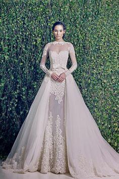 WEDDING DRESSES: ZUHAIR MURAD BRIDAL FALL 2014 Woooowww gorgeous!