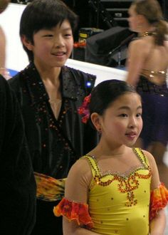 Little Alex Shibutani and Maia Shibutani(USA)