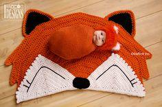 CROCHET PATTERN Foxy Fox Rug Nursery Mat Crochet PDF Pattern Instant Download on Etsy, €4,18