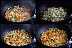 EspaguetisVerduras01 Pasta, Fried Rice, Fries, Ethnic Recipes, Food, Vegetarian, Spaghetti, Salads, Cook