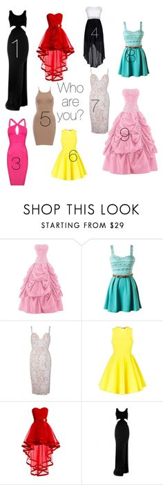 """Who are you? please vote!"" by edenaya ❤ liked on Polyvore featuring AQ/AQ and Posh Girl"