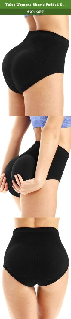 78bf4d6797b51 Yulee Womens Shorts Padded Seamless Butt Hip Enhancer Shaper Underwear  Panties