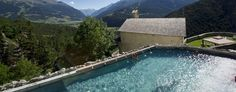 Grand Hotel Bagni Nuovi: The views from this holistic hideaway are truly stunning.